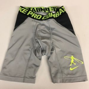 Nike Pro Combat Baseball + Football Sliding Shorts